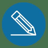 iscona scrivi